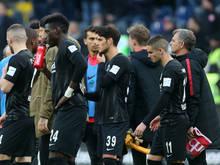 Enttäuschung bei den Hessen nach der Heimniederlage gegen Mainz