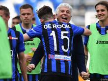 Ataltanta Trainer Gian Piero Gasperini hat genügend Selbstvertrauen