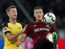 Wimmer stand zuletzt auf Leihbasis für Hannover 96 am Platz