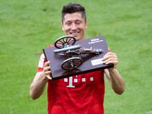Stürmerstar Lewandowski soll verlängert werden