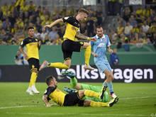 Dortmund nahm die Hürde Uerdingen