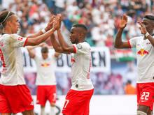 Leipzig startete auch daheim mit einem Sieg