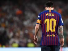 Leo Messi hat seine Wadenblessur noch nicht auskuriert