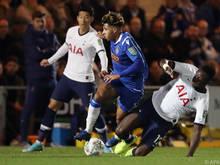Tottenham stolperte über Viertligist Colchester