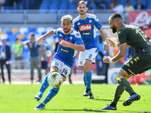 Napoli gewann 2:1 in Brescia