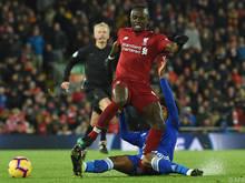 Liverpool gegen Leicester als Hit der Runde