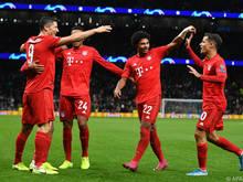 Die Bayern wollen ihr Hoch aus der Champions League mitnehmen
