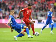 Posch legte sich gegen die Bayern ordentlich ins Zeug