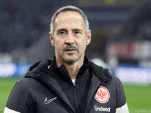 Adi Hütter will sich für die 1:6 Klatsche gegen Leverkusen revanchieren