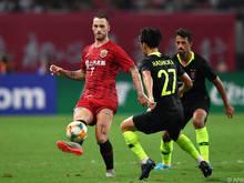 Marko Arnautović gab in Shanghai sein Comeback