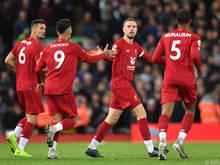 Liverpool jubelt über den nächsten Sieg