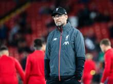 FC Liverpool-Trainer Jürgen Klopp äußert Kritik am vollen Spielplan