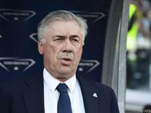 Rote Karte für Carlo Ancelotti