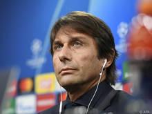 Inter-Trainer Antonio Conte hadert mit der Niederlage gegen Dortmund