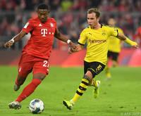 David Alaba zeigte gegen Dortmund eine starke Leistung