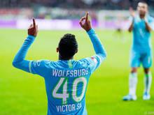 João Víctor erzielte sein erstes Tor in der deutschen Bundesliga