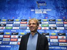 Jürgen Klinsmann freut sich auf sein Bundesliga-Comeback