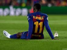Dembele erlitt eine Muskelverletzung im rechten Oberschenkel