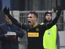 Lautaro Martínez traf zweimal für Inter