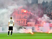 Martin Hintereggers Treffer konnte die Eintracht-Niederlage nicht verhindern