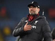 Liverpool-Manager Jürgen Klopp will noch nicht feiern