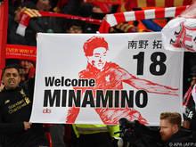 Takumi Minamino wurde bei Liverpool herzlich empfangen