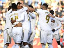 Real ist nach dem Sieg wieder gleichauf mit dem Rivalen aus Barcelona