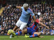 Manchester City und Crystal Palace trennten sich 2:2