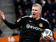ErlingHåland steht vor seinem Startelf-Debüt für den BVB