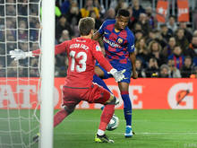 Der 16-jährige Ansu Fati schoss Barcelona im Alleingang zum Sieg