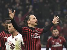 Der Einstand von Zlatan Ibrahimović bei Milan hat funktioniert