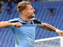 Ciro Immobile will auch gegen Inter etwas zum Jubeln haben