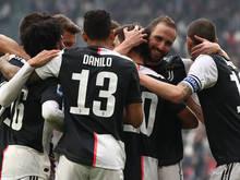 Juventus schnappt sich die Tabellenführung in Italien wieder