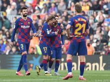 Den FC Barcelona plagen derzeit Verletzungssorgen