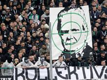 Das Skandal-Transparent im Borussia-Park