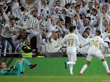 Real Madrid feierte den Prestigesieg ausgelassen