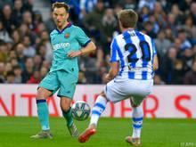Auf Barcelona wartet mit Real Sociedad ein formstarker Gegner