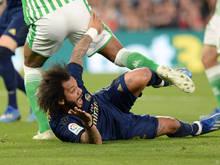 Marcelo unter den Rädern