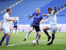 Arminia Bielefeld musst sich gegen Osnabrück mit einem 1:1 begnügen