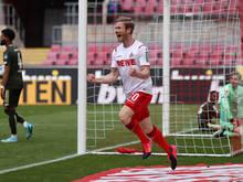 Florian Kainz traf zum zwischenzeitlichen 2:0 für Köln gegen Mainz