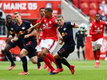 Die ÖFB-Kicker lieferten eine starke Vorstellung gegen Mainz ab