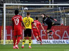 Ein Tor brachte Bayern drei Punkte und damit sieben Zähler Vorsprung