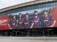 Auch auf die Spieler in Spanien warten leere Stadien