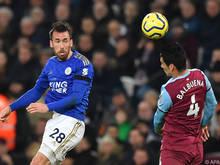 Leicester ist mit Christian Fuchs' Diensten zufrieden