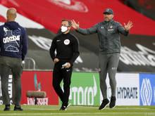 Ralph Hasenhüttl gewann das Trainerduell gegen Pep Guardiola