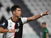 Cristiano Ronaldo traf gleich zweimal vom Elfmeterpunkt