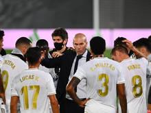 Zidane und Real stehen vor dem Meistertitel