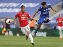 Manchester United bezwang Leicester mit 2:0