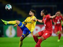 Hertha BSC schied unerwartet gegen Eintracht Braunschweig aus