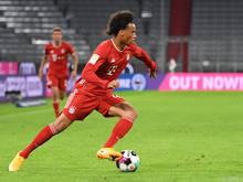 Leroy Sané zeigte eine starke Leistung beim Debüt für den FC Bayern München